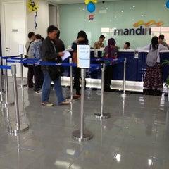 Photo taken at Bank Mandiri by Rio A. on 10/5/2012