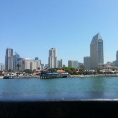 Photo taken at San Diego Bay by Joe S. on 5/11/2013