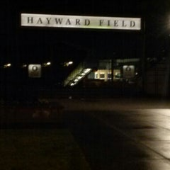 Photo taken at Hayward Field by Lynn C. on 12/5/2014