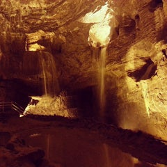 Photo taken at The National Showcaves Centre for Wales by Phil M. on 7/11/2013
