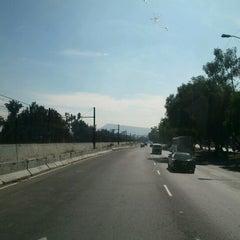 Photo taken at Calzada Ignacio Zaragoza by Gerardo G. on 11/21/2012