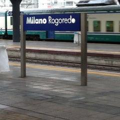Photo taken at Stazione Milano Rogoredo by Sylvain D. on 3/30/2013