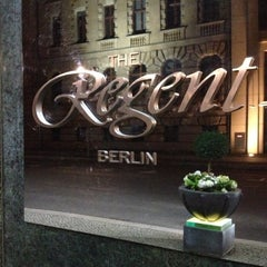 Photo taken at Regent Berlin by Michael S. on 10/9/2012