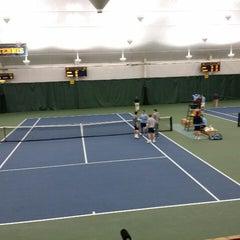 Photo taken at University of Michigan Varsity Tennis Center by Scott R. on 3/15/2014