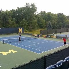 Photo taken at University of Michigan Varsity Tennis Center by Scott R. on 8/2/2014