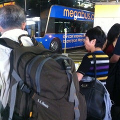 Photo taken at Megabus Stop - Washington, DC by Lobga G. on 10/3/2012