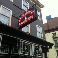 Photo taken at White Horse Tavern by natasha j. on 9/29/2012