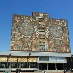 Photo taken at Universidad Nacional Autonoma de Mexico by MeFashion M. on 10/4/2012