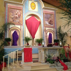 Photo taken at St. Francis Of Assisi Church by Ashur T. on 3/23/2013
