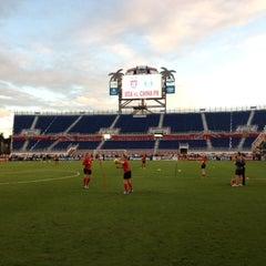 Photo taken at FAU Football Stadium by U.S. Soccer on 12/14/2012