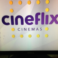 Photo taken at Cineflix Cinemas by Augusto Morimoto N. on 7/15/2013