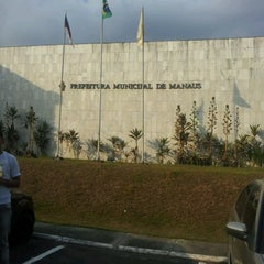 Photo taken at Prefeitura Municipal de Manaus by paulo j. on 9/20/2012