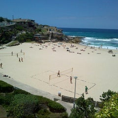 Photo taken at Tamarama Beach by J F. on 12/27/2012