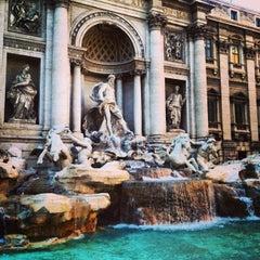 Photo taken at Piazza di Trevi by Gerardo X. on 7/14/2013