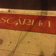 Photo taken at Scarlet by Edgar C. on 4/5/2013