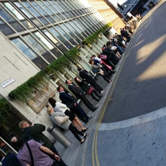 Photo taken at London Bridge Bus Station by Will B. on 9/8/2014