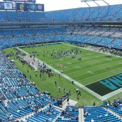 Photo taken at Bank of America Stadium by Lindsay S. on 9/8/2013