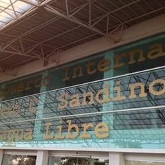 Photo taken at Aeropuerto Internacional Augusto C. Sandino by Luis R. on 1/27/2013