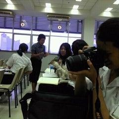 Photo taken at ห้อง 906 อาคารพินิตประชานาถ by tansai a. on 1/17/2012