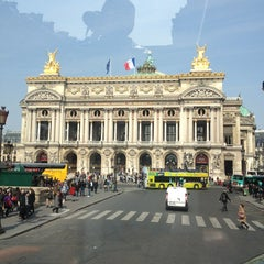 Photo taken at Place de l'Opéra by Olesya M. on 3/29/2013