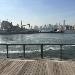 Photo taken at East River Ferry - Schaefer Landing/S. Williamsburg Terminal by Ivy T. on 10/21/2015