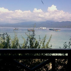 Photo taken at Trawangan Beach Cottages Bar & Restaurant by Alexey D. on 3/25/2013