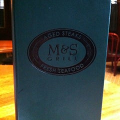 Photo taken at M&S Grill by Mohammad A. on 10/8/2012
