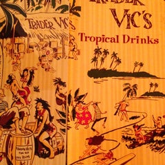 Photo taken at Trader Vic's by Jeffrey M. on 2/15/2013
