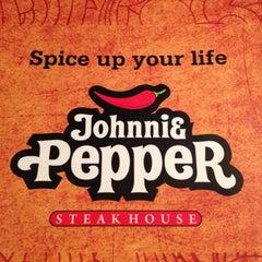 Photo taken at Johnnie Pepper by Daniella A. on 11/4/2012