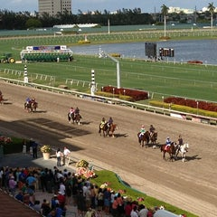 Photo taken at Gulfstream Park Racing and Casino by Patricia C. on 2/9/2013