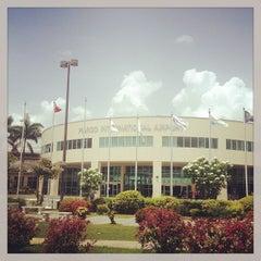Photo taken at Piarco International Airport (POS) by Moose I. on 7/12/2013