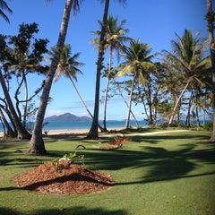 Photo taken at Castaways Resort Mission Beach by Leo D. on 7/17/2014