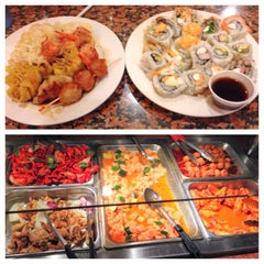 Photo taken at Chow Tyme Grill & Buffet by Daniel L. on 3/15/2014