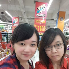 Photo taken at LotteMart by Jessica T. on 2/19/2015