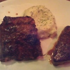 Photo taken at Outback Steakhouse by Zach S. on 10/16/2012