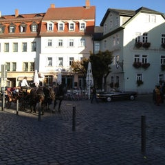 Photo taken at Am Frauenplan by Elina W. on 10/21/2012