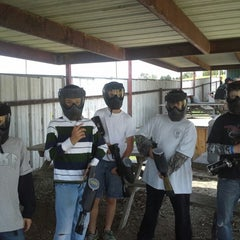 Photo taken at Official Paintball by Kimberlee D. on 7/13/2013