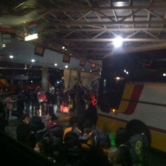 Photo taken at Terminal de Buses San Borja by Marcelo Joaquín O. on 11/1/2012