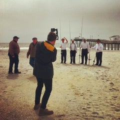 Photo taken at Ocean City Fishing Pier by Josh K. on 4/15/2013