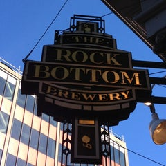 Photo taken at Rock Bottom Brewery by Art R. on 6/5/2013