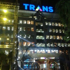 Photo taken at Trans TV by Yudistira Y. on 12/9/2014