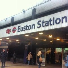 Photo taken at London Euston Railway Station (EUS) by Caryll G. on 1/17/2013