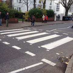Photo taken at Abbey Road Crossing by takeshi y. on 11/6/2012