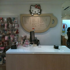 Photo taken at Sanrio Café by Tatiana S. on 1/21/2013