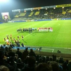 Photo taken at Herman Vanderpoortenstadion | Het Lisp by Erwin G. on 12/1/2012