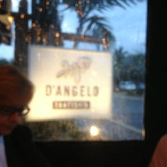 Photo taken at D'Angelo Trattoria by Linda K. on 3/18/2013