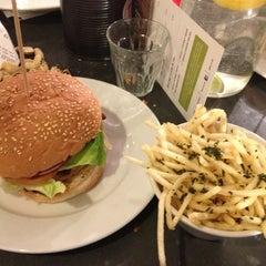 Photo taken at Gourmet Burger Kitchen by Raj S. on 3/22/2013