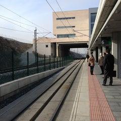 Photo taken at Estación de Segovia-Guiomar by Carlos P. on 12/11/2012