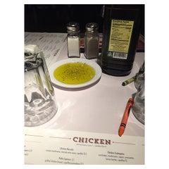 Photo taken at Romano's Macaroni Grill by Linda L. on 5/10/2015