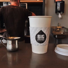 Photo taken at Big Shoulders Coffee by Charlie F. on 9/7/2013